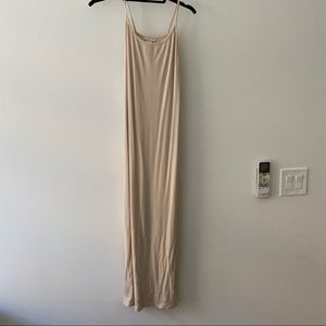 Cream cami dress from H&M